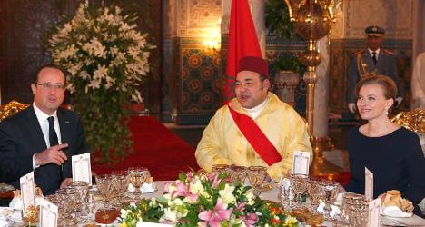 Hollande in Morocco to strengthen ties