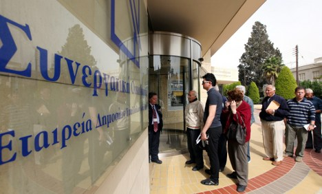 Germany rejects footing bigger Cyprus bailout