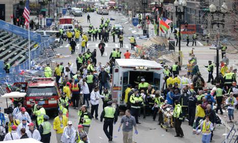 Boston bombing 'deeply shocks' Germany