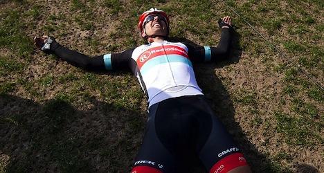 Cancellara wins third Paris-Roubaix race
