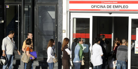 Spain's jobless rate hits record six million