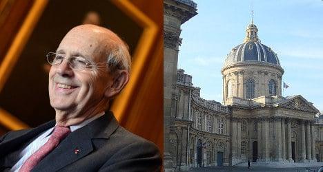 Francophile US judge joins elite Paris academy