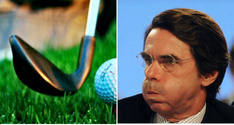 Ex Spanish PM hits free golf class bogey