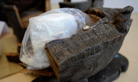 Police bag biggest-ever crystal meth haul