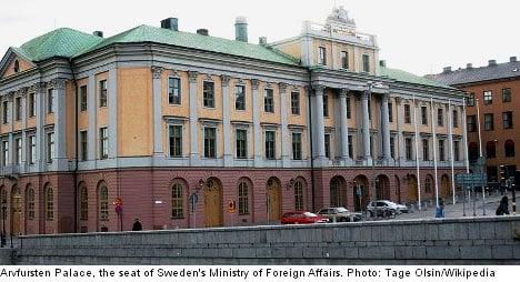 US spy suspect wife of Swedish ministry insider