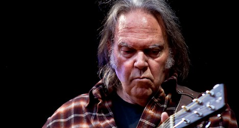 Neil Young to kick off Paléo music festival