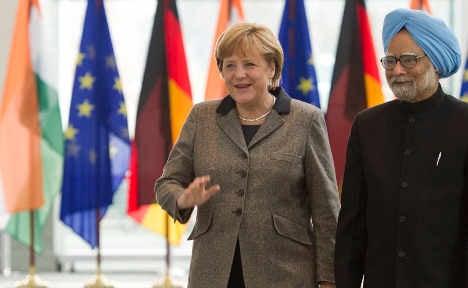 Merkel aims to bolster Indian economic ties