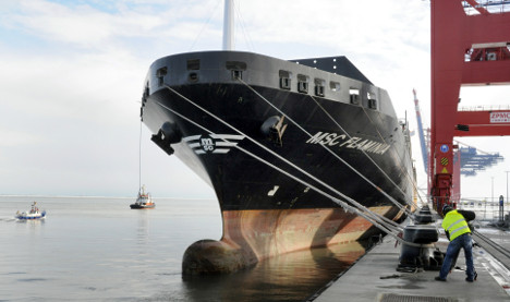 HSH Nordbank cuts loose bad shipping loans