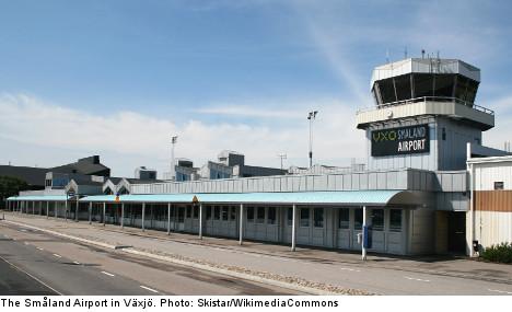 Bomb threat shuts down Swedish airport