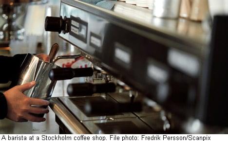 Swedish café owner defends his kid ban