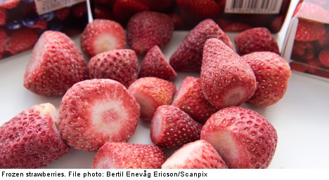Swedish frozen-berry hepatitis outbreak widens