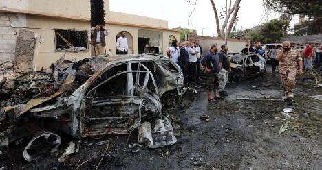 French embassy in Libya hit by car bomb