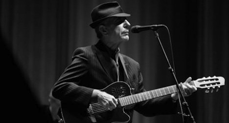 Leonard Cohen to open Montreux Jazzfest