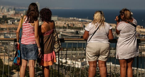 Foreign holidaymakers spend big in Spain