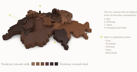 Study maps Swiss divide over chocolate treats