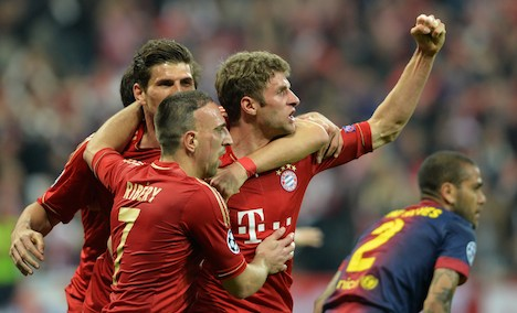 Rampant Bayern Munich trounce Barcelona