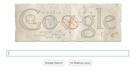 Swiss mathematician honoured by Google