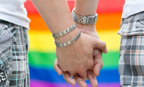 Pride parade shuns CDU over gay marriage