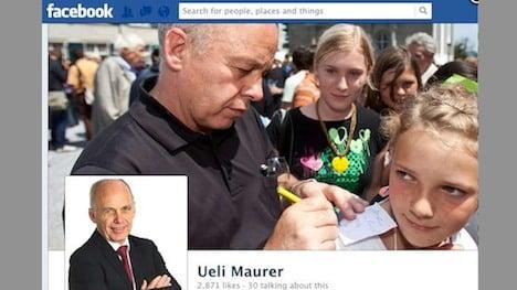 Swiss president Maurer abandons Facebook