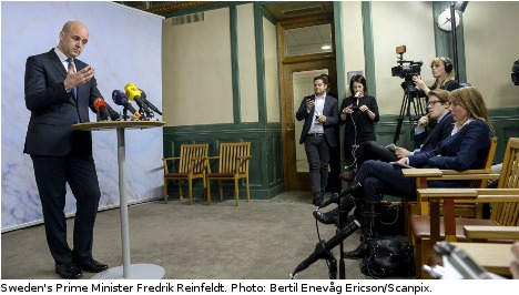 Reinfeldt: society must resist hooliganism