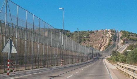 Migrants storm Spain-Morocco border