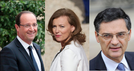 Ex-minister sues over Trierweiler affair claim