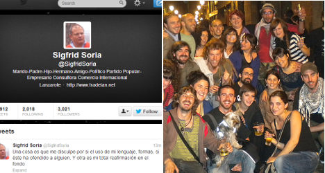 Ex-MP stirs up storm with 'hippy' tweets
