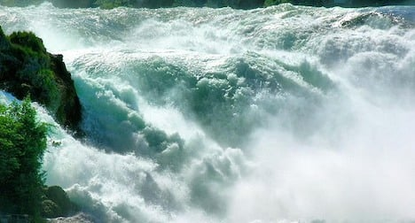 Police probe mystery Rhine Falls death
