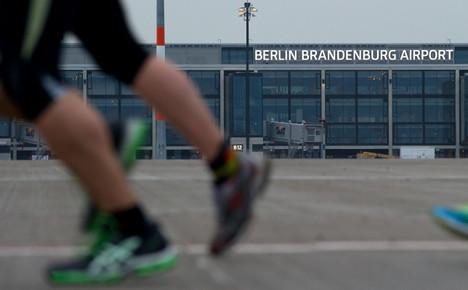 Brit lands Berlin airport half marathon victory