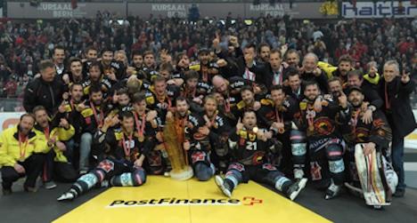 Bern wins 13th national hockey championship