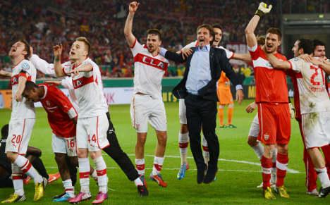 Stuttgart to face Bayern in German Cup final