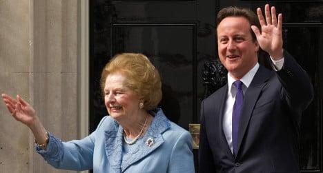 Thatcher death changes Cameron's Spain plans