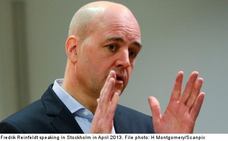 Reinfeldt breaks silence on Boston bombing