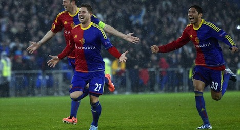 Giant-slayers FC Basel take on Chelsea
