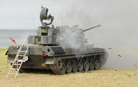 Brazil to buy German anti-aircraft tanks