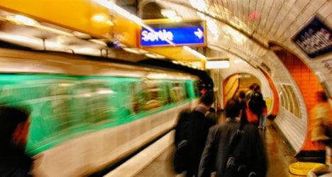Thrill seeker dies 'train surfing' on Paris Metro