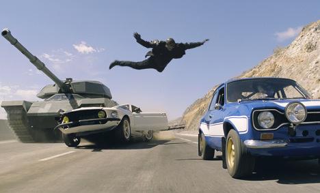 New in German cinemas: 'Fast & Furious 6'