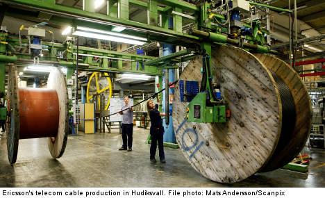 350 jobs lost as Ericsson shuts Swedish factory