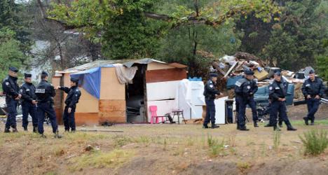 Women and children die in blaze at Roma squat