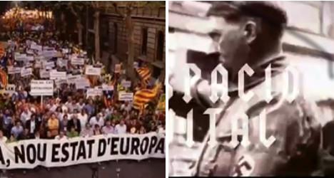 TV show slams 'Nazi' Catalan language policies