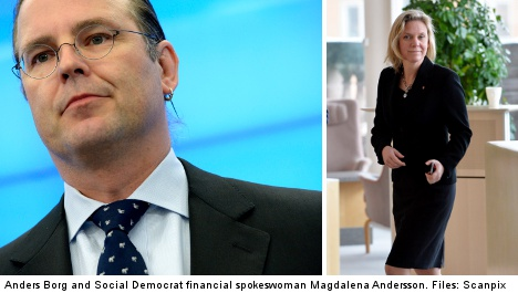 Borg defends critique of strong Swedish krona