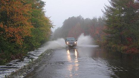 Hundreds flee floods in Norway