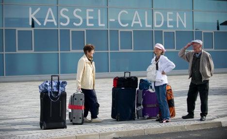 Sick staff ground new airport's first flight