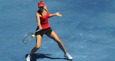 Sharapova makes winning start in Madrid