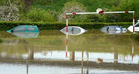 North-east France placed under high flood alert