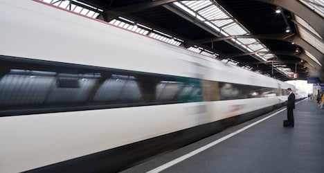 Driver of Bern-Zurich train passes out