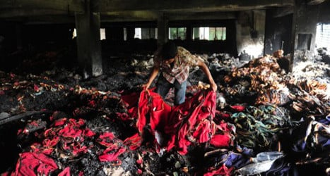Inditex pledges safety for Bangladesh workers