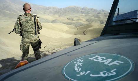 Elite German soldier killed in Afghanistan
