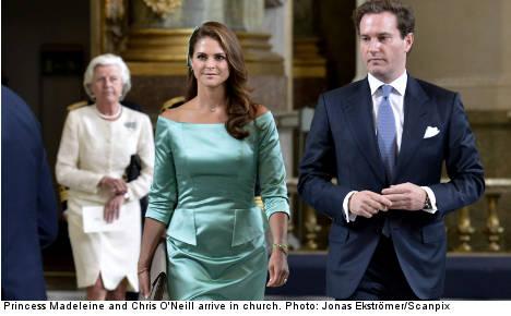 Royal wedding fever hits Sweden
