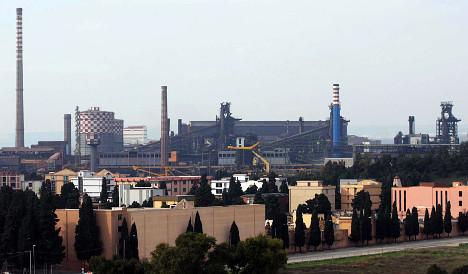 Steel assets seized over plant pollution scandal
